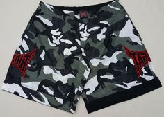 TAPOUT MMA Fight UFC Mens Camo Swim Trunks Board Shorts Size 34 #TapOut #UFC #MMA