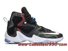 newest 7a33b 5bd21 Nike Lebron 13 BHM Black History Month 828377-910 Chaussures Nike Basket  Pas Cher Pour