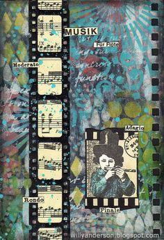 Art Journal page: Filmboy