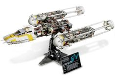 Amazon.com: LEGO Star Wars Set #10134 YWing Attack Starfighter: Toys & Games