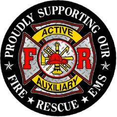 ladies auxiliary fire department shirts - Google Search