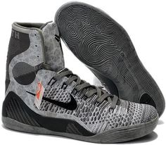 buy online d3bf9 9c52c Kobe 9 Zoom High Grey Black Kobe 9 High, Huaraches, Basketball Shoes, Shoe