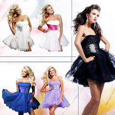 Cheap dress code business casual, Buy Quality dress alternative directly from China dress cartoon Suppliers:  New Prom Formal Ball Gown Evening Party Mini Cocktail Dress LF003 *Strapless mini Dress*delicated beads in the waistlin
