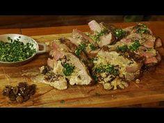 Tapa de Asado Rellena - Receta de Locos X el Asado - YouTube Tapas, Relleno, Meat, Chicken, Youtube, Meals, Diversity, Grilling, Iron
