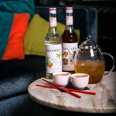 Fancy a cup of tea? Then you should try this Oolong tea based cocktail named Tonquin #2 after the Tonquin War between France and China as this drink brings the two together again.  Tonquin #2 10ml MONIN Salted Caramel syrup 15ml MONIN Triple Sec syrup 30ml 666 Pure Tasmanian Vodka 45ml Oolong tea Stir all ingredients with ice; strain & serve in tea cup with orange twist and spritz of Eau De MONIN How to make Eau de MONIN: mix MONIN Triple sec syrup with water and keep it in a spray bottle…