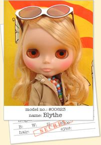 "The original Blythe dolls were manufactured by Kenner in 1972. Production ended after a year because of poor sales.  In late 2000, she made her comeback in Japan when CWC produced a TV commercial for Parco department store starring Blythe.   In June 2001, CWC produced an 11 inch neo-Blythe doll, Parco Limited Edition, with the permission of Hasbro.  A year later, a 4 1/2 inch version of the Neo-Blythe was invented, titled ""Petite Blythe"" called ""Pucci"". By 2006, there have been 100…"
