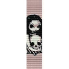 skull loom patterns - Google Search