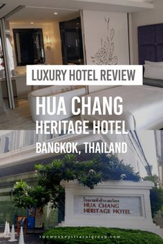 Luxury Hotel Review: Hua Chang Heritage Hotel, Bangkok, Thailand Whether for shopping or sightseeing, Bangkok never fails its visitors. A perfect blend of traditional and modern, this capital city of Thailand has been a popular tourist destination for a long time. It is no wonder that many hotels are well equipped to make their guests' stay as comfortable as possible, especially after a tiring day.