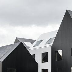 Frederiksvej Kindergarten is a minimalist space located in Frederiksberg, Denmark, designed by CORE