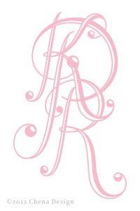 A Few More Monograms… » Chena Design