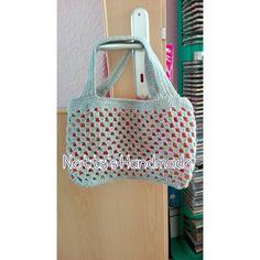 #Neue #häkeltasche für den #Sommer #klein #praktisch und #schick ein #Hingucker für jeden.  www.dawanda.com/shop/nettyshandmade  #Netty's #Handmade