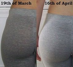 Before & After: Squats