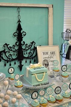 Tiffany & Co., Breakfast at Tiffany's Birthday Birthday Party Ideas | Photo 2 of 24 | Catch My Party