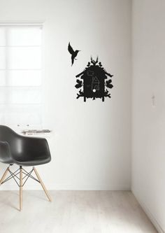 KEK Amsterdam Schoolbord Sticker Birdhouse 45x56 cm