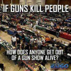 If Guns Kill People... ?