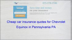 How To Find Affordable Insurance Rates For Chevrolet Equinox Suv