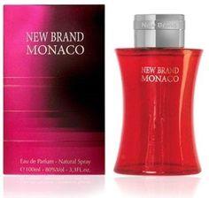 Monaco by New Brand for Men's Eau De Toilette Spray 3.3oz/100ml, New In Box #Monaco