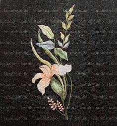 Wedding Veil, Brooch, Embroidery, Flowers, Jewelry, Needlepoint, Jewlery, Jewerly, Brooches