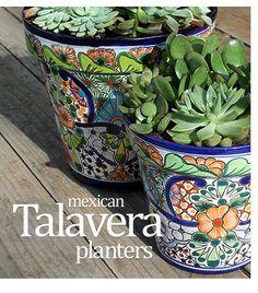 Talavera Planters