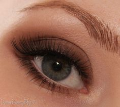 Matte Brown Smokey Eyes