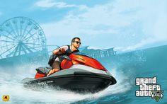 Two GTA 5 Art Pieces -- Wave Runner & Motor Bike - Grand Theft Auto V Forum (GTA 5) - Neoseeker Forums