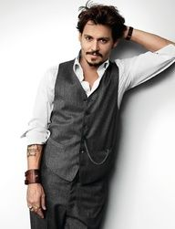 Johnny Depp... love his acting!