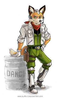 Project SFR : Fox McCloud by ALA1N-J.deviantart.com on @deviantART