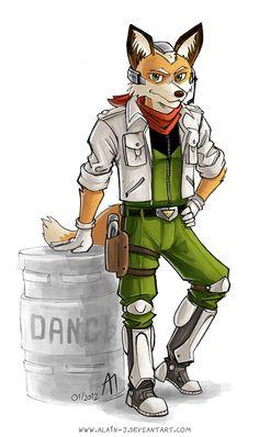 Project SFR : Fox McCloud by ALA1N-J.deviantart.com on @deviantART