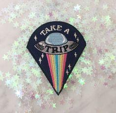 'Take a Trip UFO' Patch