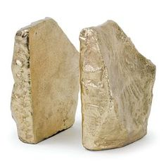 Interior HomeScapes offers the Rock Bookends in Soft Gold by Regina Andrew Design. Visit our online store to order your Regina Andrew Design products today. Best Gifts For Couples, Faux Rock, W 6, Eclectic Style, Contemporary Style, Simple Designs, Home Accessories, Cool Stuff, Classic