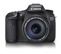Canon - Canon EOS 7D 18 MP CMOS Digital SLR Camera with 3-Inch LCD and 18-135mm f/3.5-5.6 IS UD Standard Zoom Lens