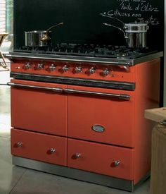 LaCanche Cluny range in Mandarin, shown here at Robeys UK
