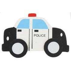 Police Cruiser Painted Shape