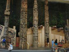 Totems Amérindiens