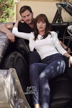Dakota Johnson & Jaime Dornan    Promo shoot