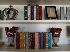 Shelf vignettes