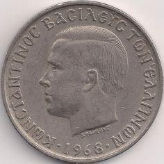 Motivseite: Münze-Europa-Südosteuropa-Griechenland-Drachme-10.00-1968