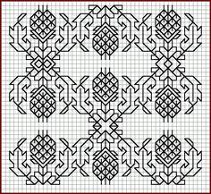 Free Blackwork patterns | Cross-Stitch Club