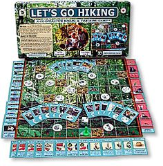 Let's Go Hiking cooperative game family pastimes #cooperative #games at www.cooperativegames.com