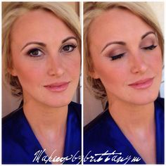 Natural Bridal makeup done by Brittany Martin www.makeupbybrittanym.com