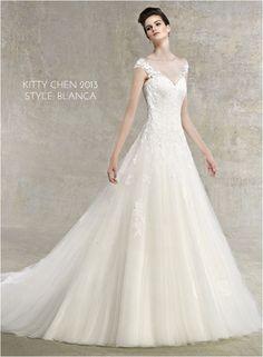 Wedding Gowns I love: Kitty Chen 2013