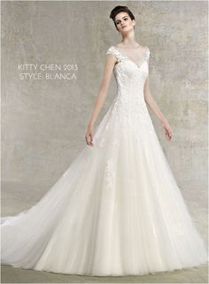 Wedding Gowns I love: Kitty Chen 2013