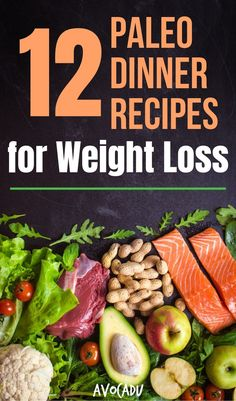 These paleo dinner recipes will help you stick to your weight loss goals during the weeknights when meals, kids, and work are dragging you down! Clean Eating Recipes, Diet Recipes, Healthy Eating, Healthy Recipes, Smoothie Recipes, Healthy Life, Paleo Life, Paleo Meals, Recipes Dinner