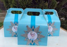 Disney Frozen Birthday favor Boxes 12 by FantastikCreations