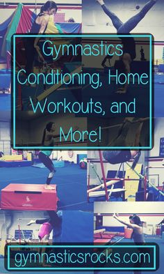 Hey everyone! Today I'm doing a list post about 6 things I think are essential for a great gymnastics conditioning workout. Most of these can apply to any conditioning or strength training wo… Gymnastics At Home, All About Gymnastics, Gymnastics Tricks, Gymnastics Skills, Gymnastics Coaching, Gymnastics Workout, Gymnastics Conditioning, Conditioning Workouts, Gymnastics Flexibility