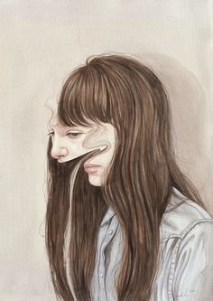 In Between by Henrietta Harris, via Behance