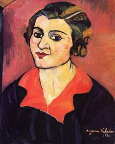 Self-Portrait,1934,by Suzanne Valadon