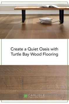 Your home should be a relaxing place of respite - despite how busy the city or street you live on is outside. With a warm and welcoming feeling, discover the classic appeal of Turtle Bay from the Manhattan Collection. #flooring #oakflooring #renovation Wide Plank Flooring, Oak Flooring, Turtle Bay, White Oak Floors, Relaxing Places, Entryway Tables, Traditional, Wood, Manhattan