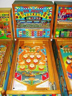 "1951 Sea Jockey ""Williams "" Pinball Machine"