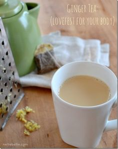 ginger tea recipe: Ginger is fantastic for you!!! from NellieBellie